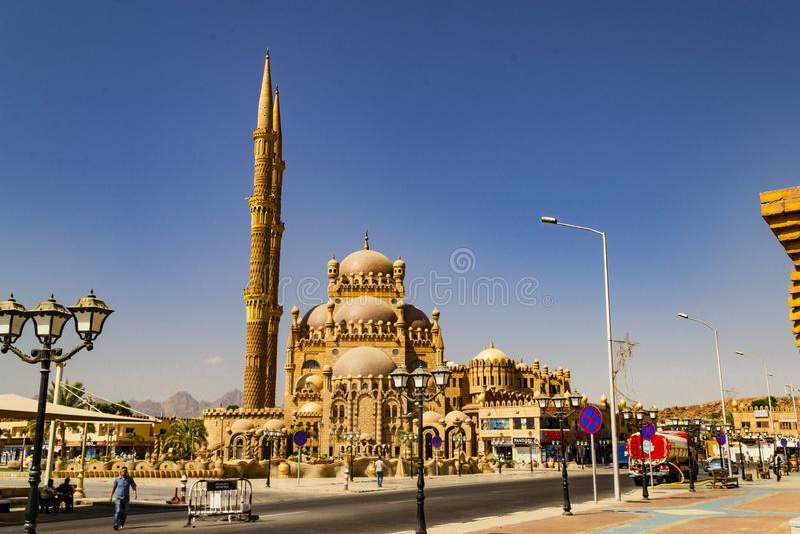 szejk sharm el egiptu Sceniczny widok miasto obraz stock