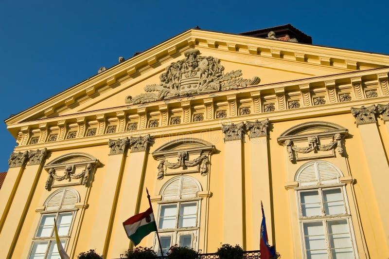 Szekesfehervar Palace stock photography