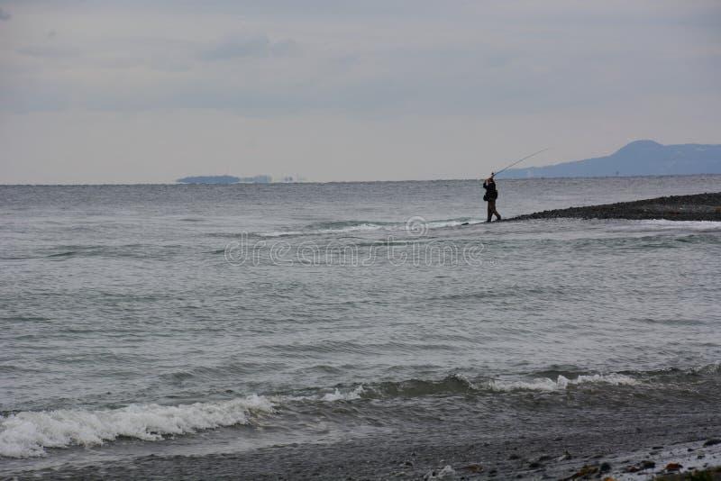Szene des Strandes stockbilder