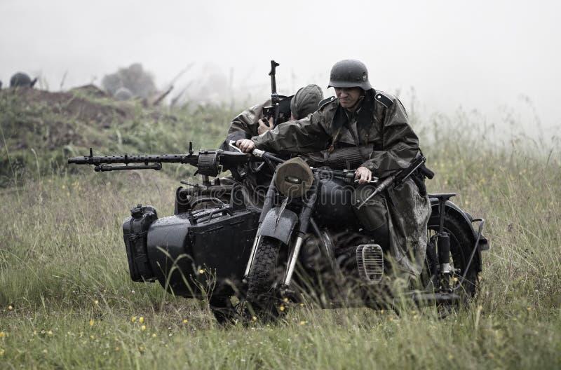 Szene des Weltkriegs 2 lizenzfreies stockbild