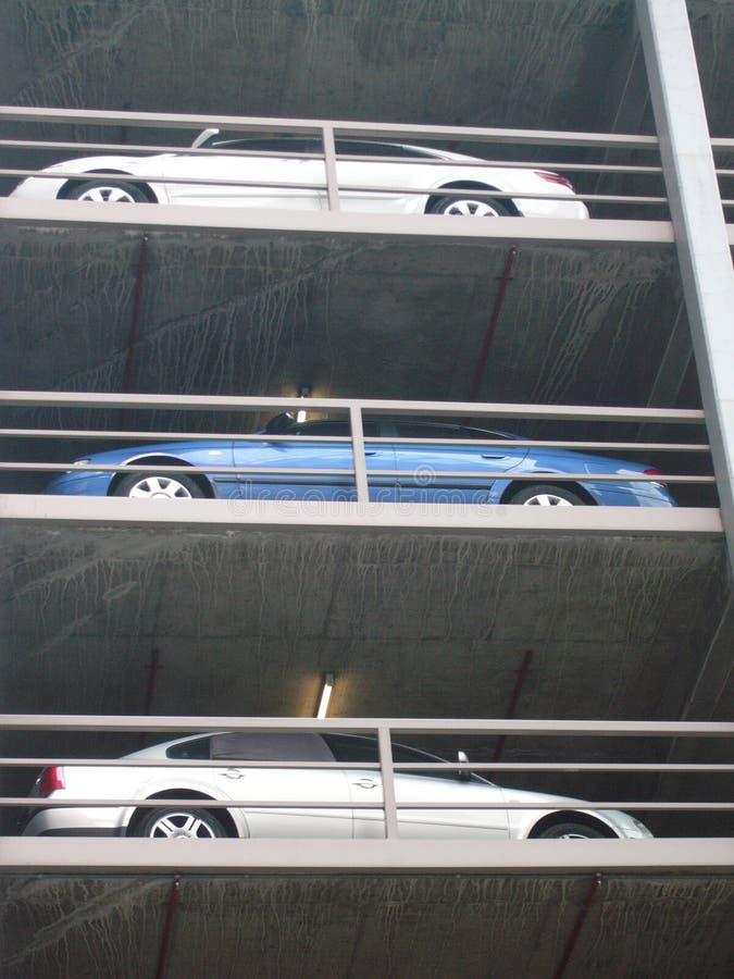 Szene Melbourne-Carpark stockfotos