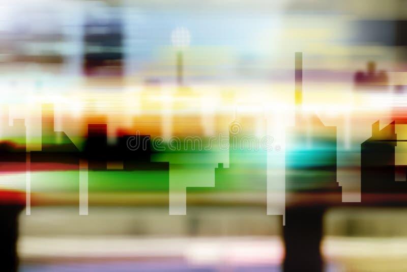 Szene von Stadtbild lizenzfreie abbildung