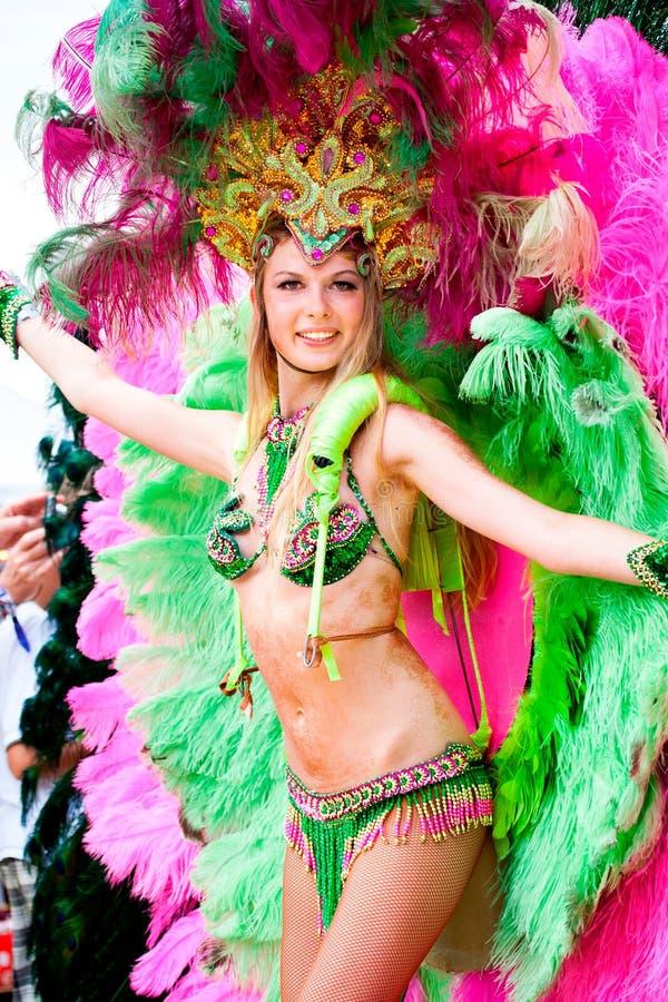 Szenen der Samba lizenzfreies stockbild