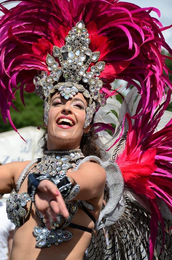 Szenen der Samba stockbild