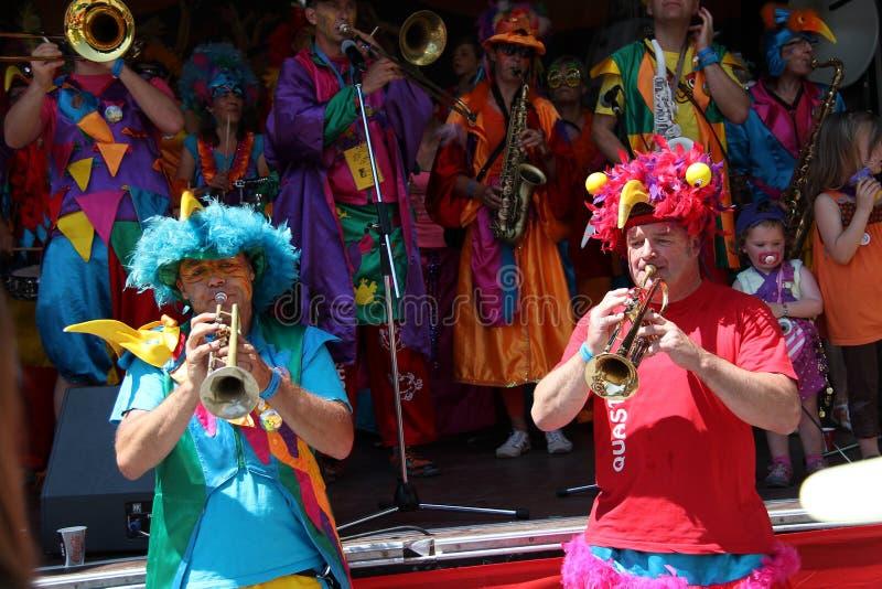 Szenen der Samba lizenzfreie stockfotografie