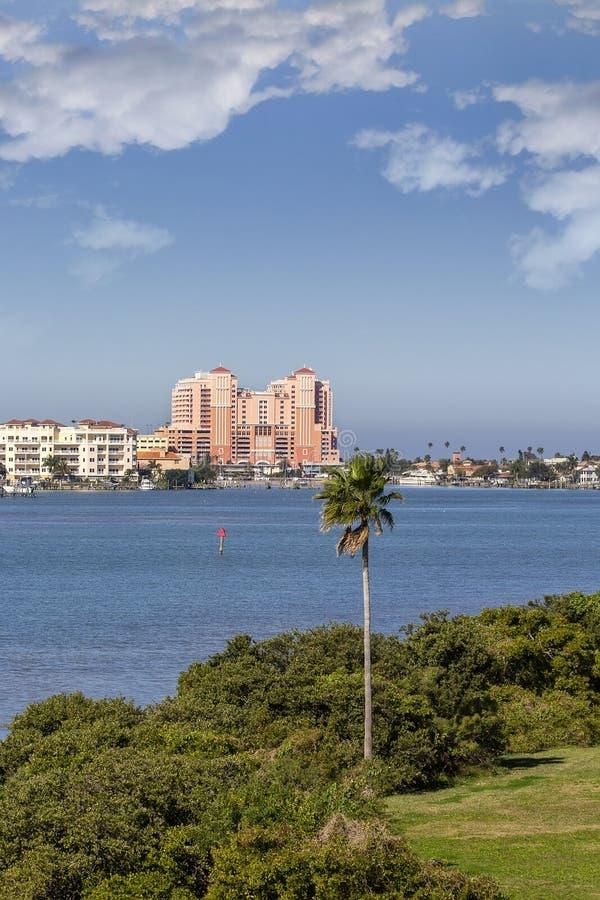 Szenische Ansicht von Clearwater, Florida stockfotografie