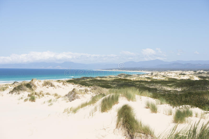 Szenische Küste Bucht von Feuern Tasmanien, Australien lizenzfreie stockfotografie