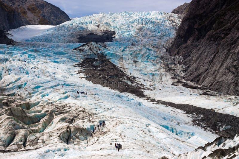 Szenische Landschaft bei Franz Josef Glacier stockfotografie