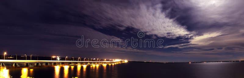 Szenische Pensacola-Bucht lizenzfreies stockbild