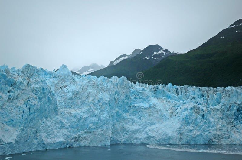 Szenischer Gletscher stockfoto