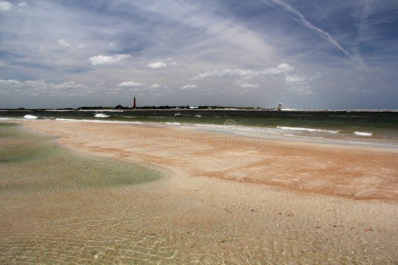 Szenischer Strand stockfotografie