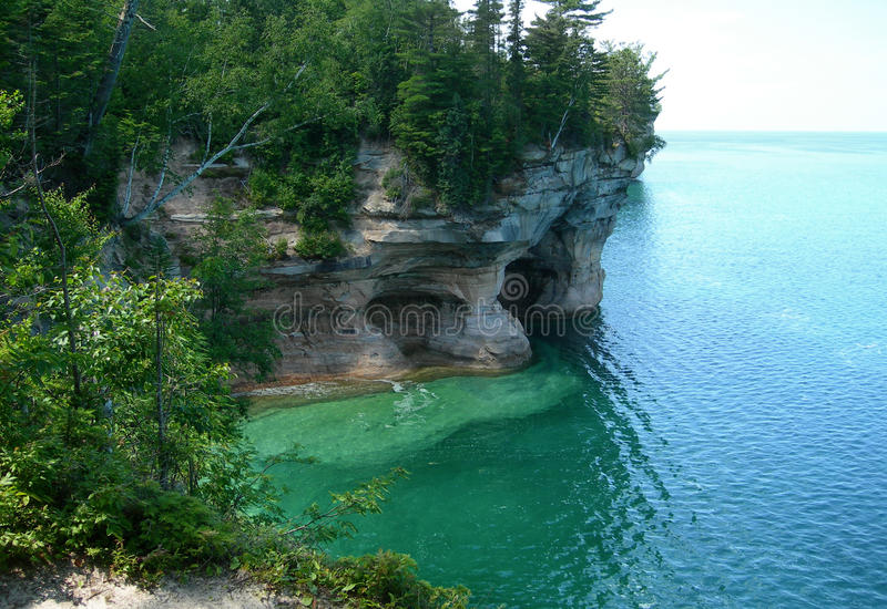 Szenisches Michigan Great Lakes lizenzfreie stockfotos