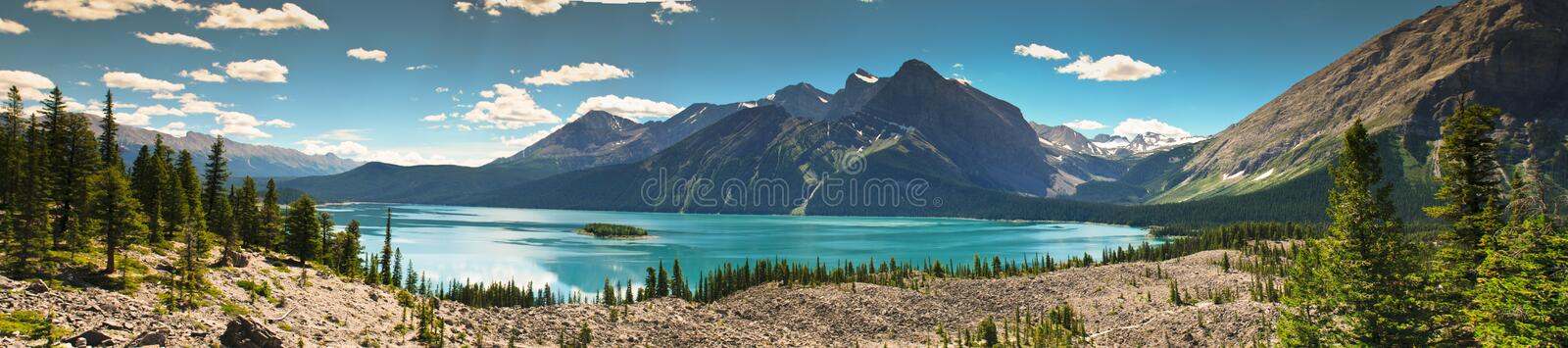 Szenisches Mountain Viewen Kananaskis-Land Alberta Kanada stockfotografie