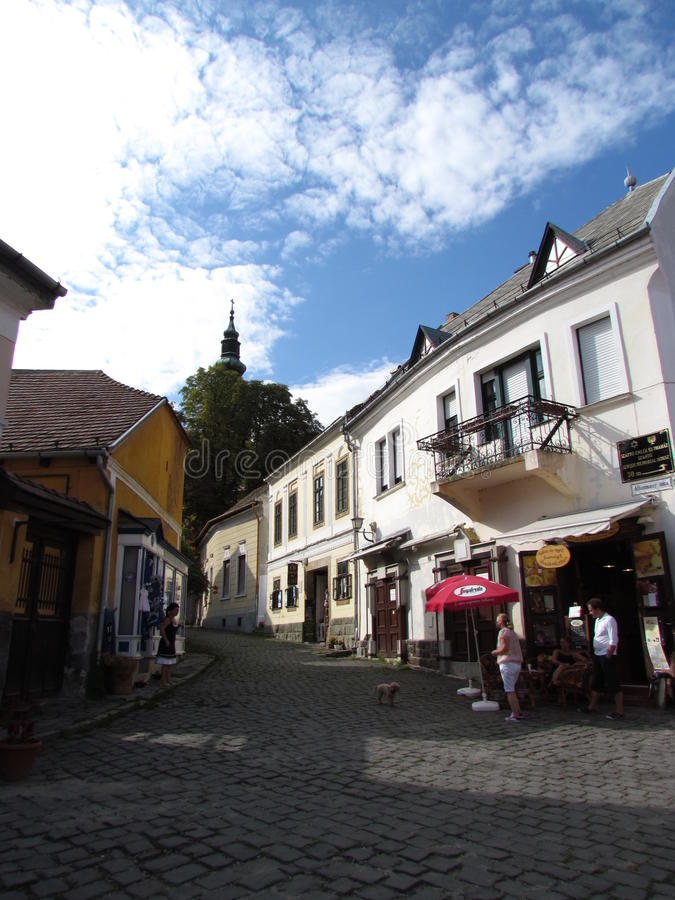 Szentendre, Hungary royalty free stock image