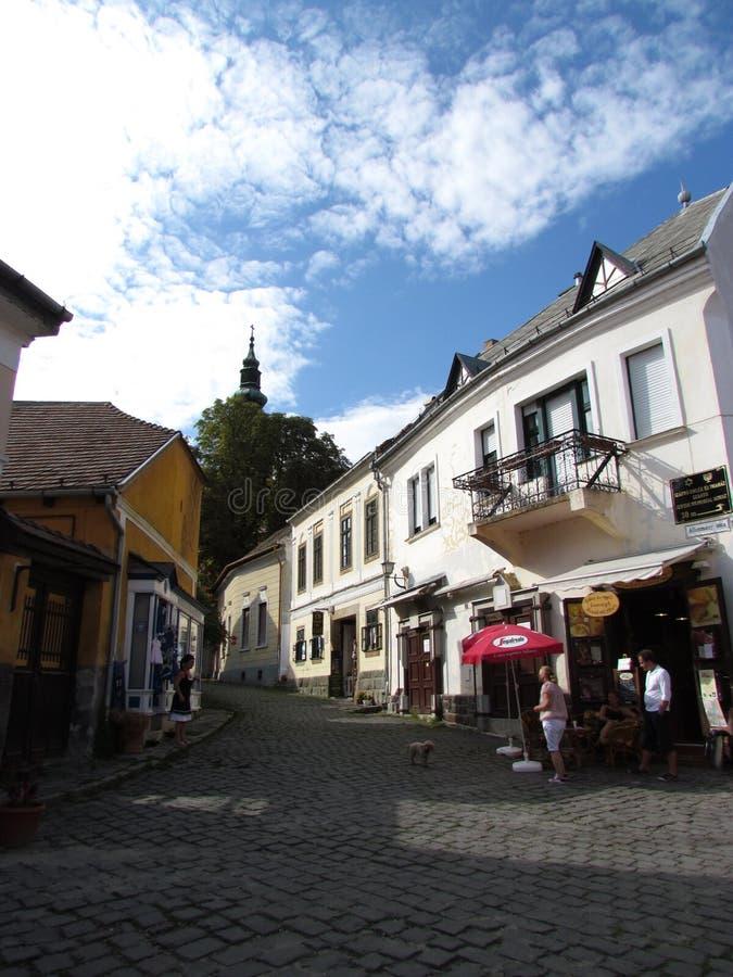 Szentendre, Ungarn lizenzfreies stockbild