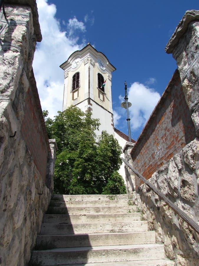Szentendre, Ungarn-Kirche stockfotos