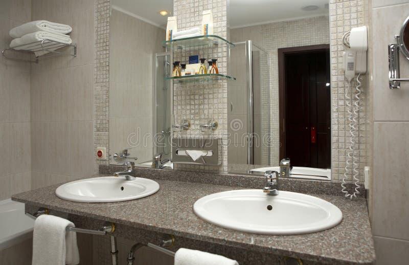szereg łazienek fotografia stock