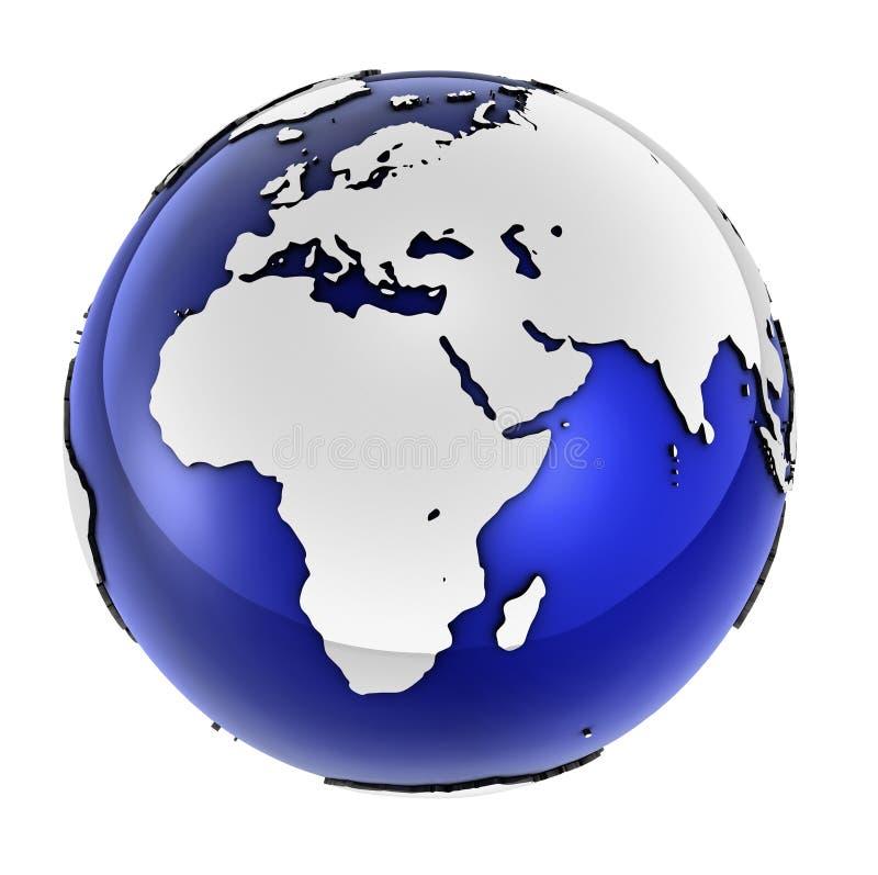szereg globalnych przedsiębiorstw royalty ilustracja