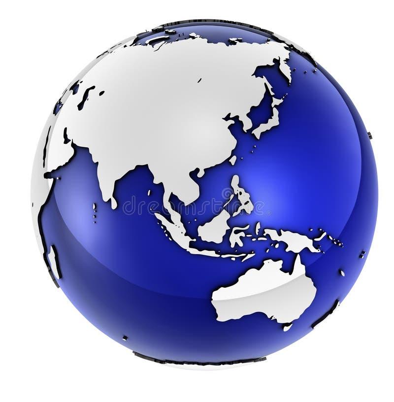 szereg globalnych przedsiębiorstw ilustracji