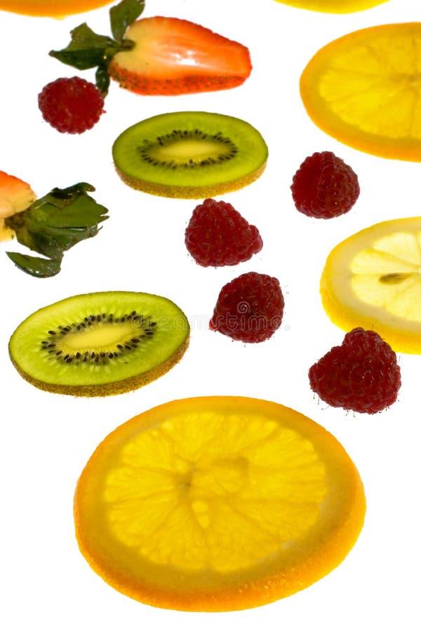 szereg owocowe obrazy royalty free