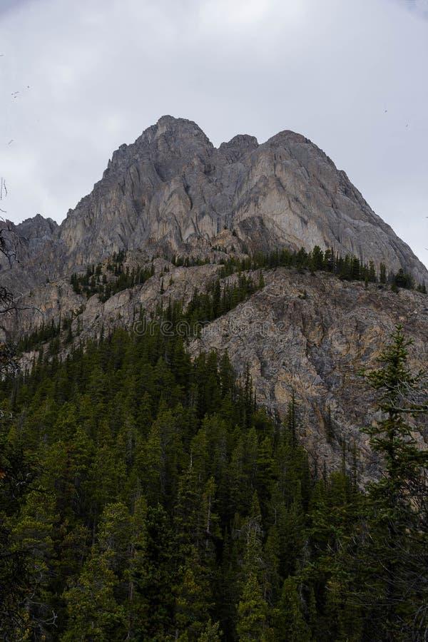 Szerocy widoki Skalista góra i Cory przepustka fotografia stock