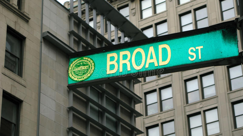szeroka boston ulica fotografia stock