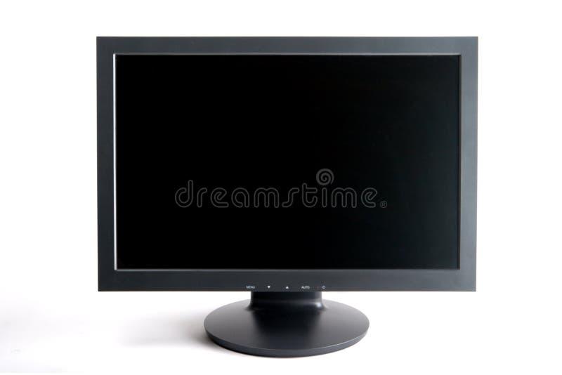 szeroki ekran monitora komputerowy obraz royalty free