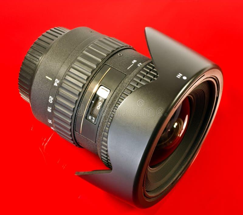 Szeroki kamera wędkujący obiektyw