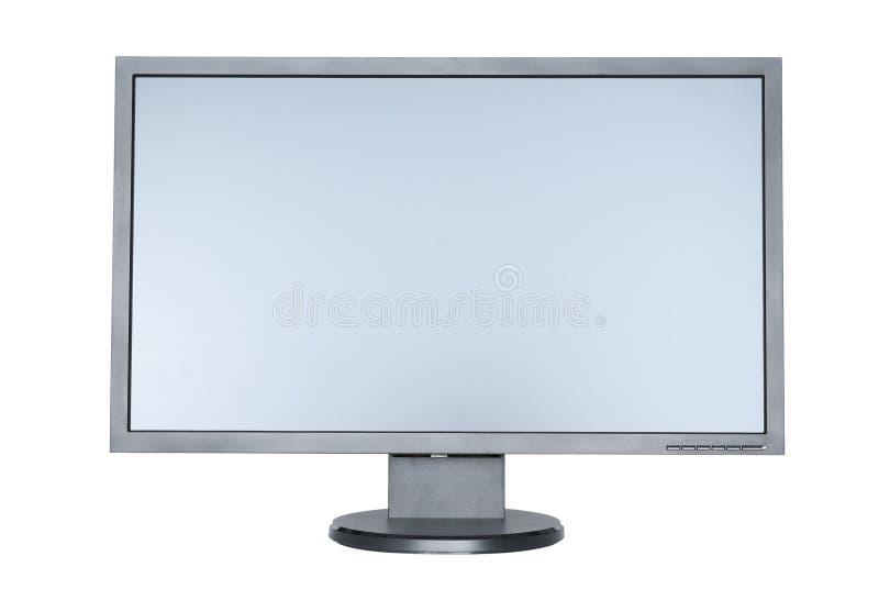 szeroki komputerowy płaski ekran obraz stock
