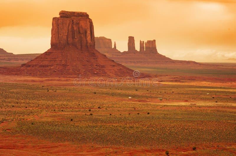 szeroki krajobrazu zdjęcia stock