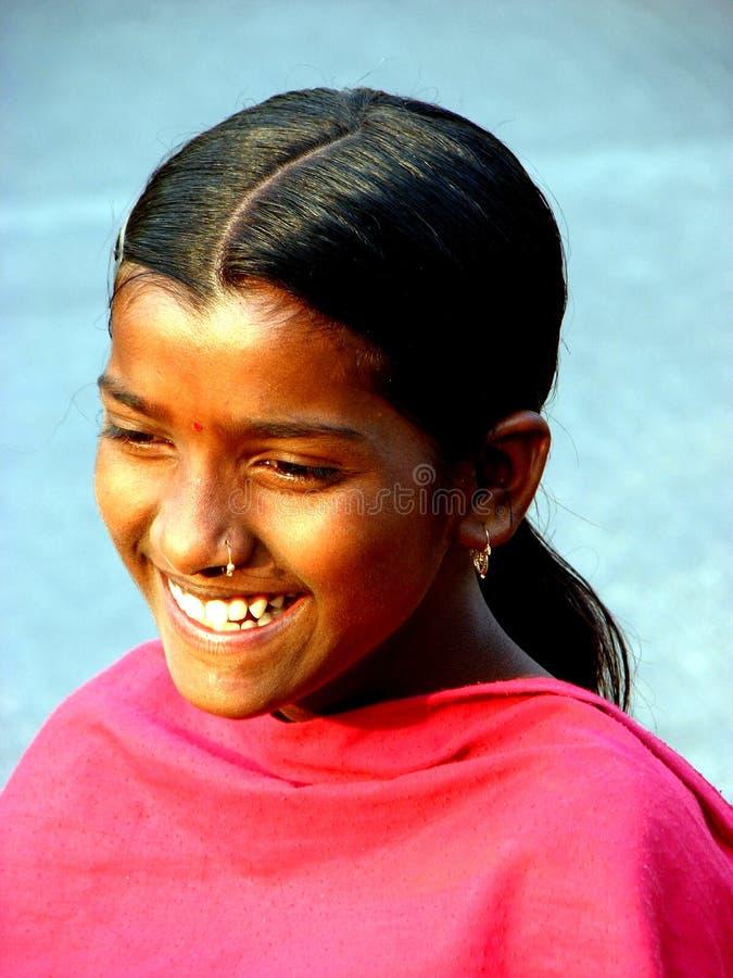 szeroki uśmiech obraz stock