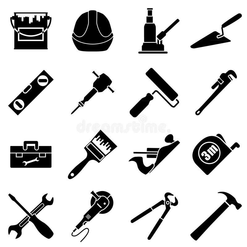 Szesnaście przemysłowy, budowa, konstruuje wytłaczają wzory kolekcję ja ilustracji