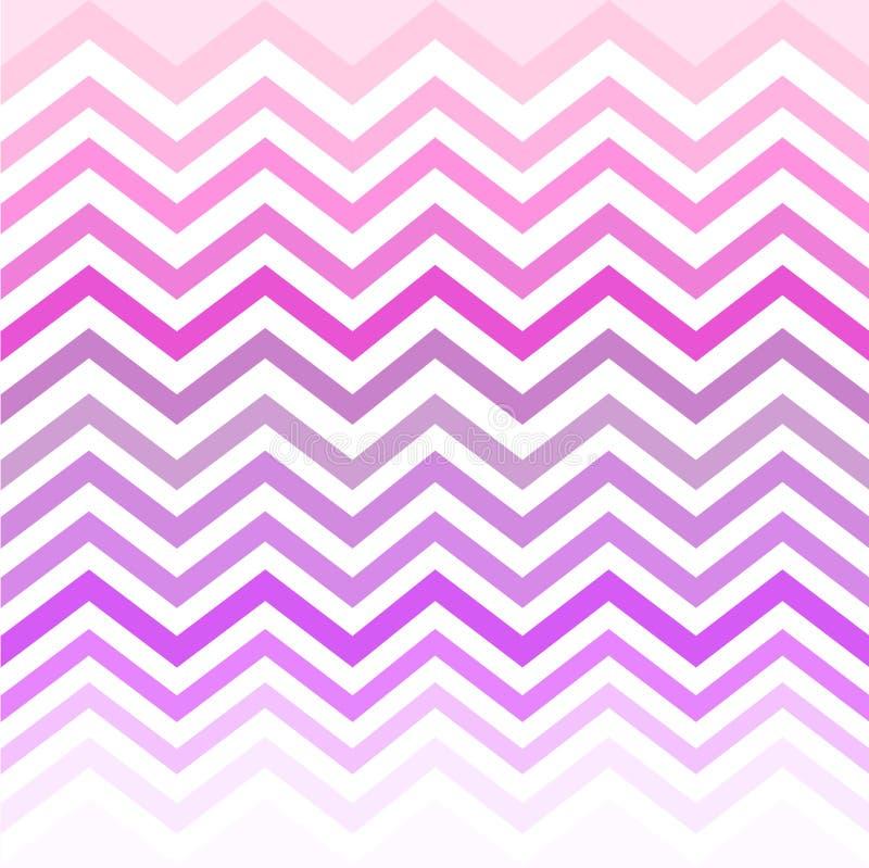 Szewronu bielu menchii purpur cienie ilustracji