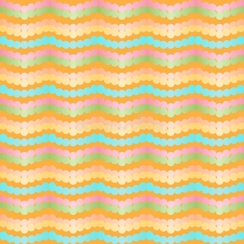 Szewronu połysku tapety elegancki gradientowy wzór royalty ilustracja