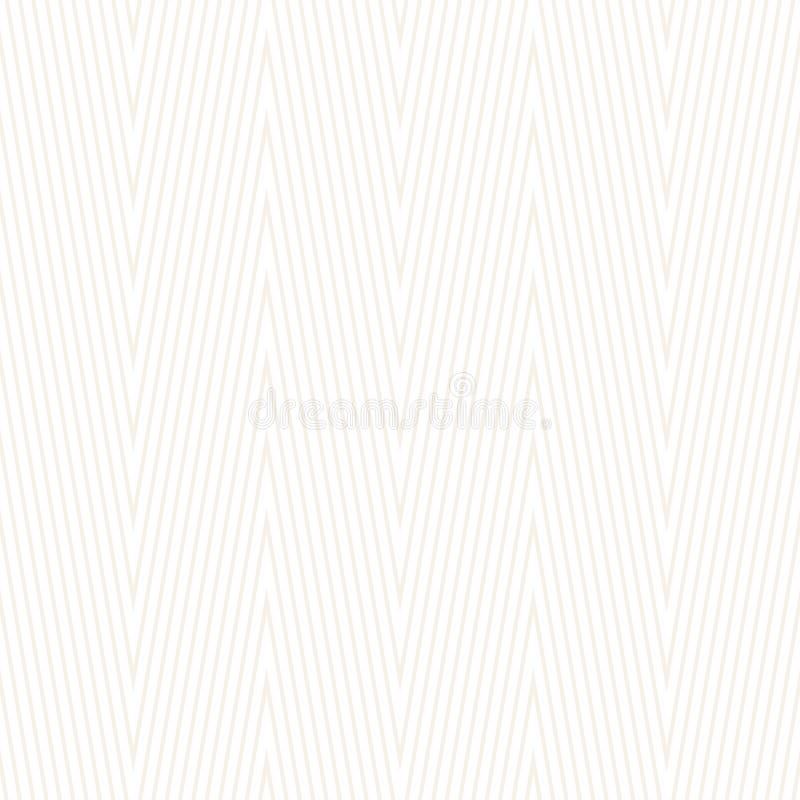 Szewronu wzór Bezszwowa zygzakowata tapeta royalty ilustracja