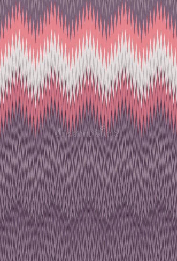 Szewronu zygzag fala rocznika abstrakcjonistycznej sztuki retro deseniowy tło wykazywać tendencję ilustracji