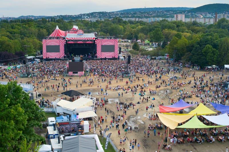 Sziget-Festival, Budapest lizenzfreie stockfotografie