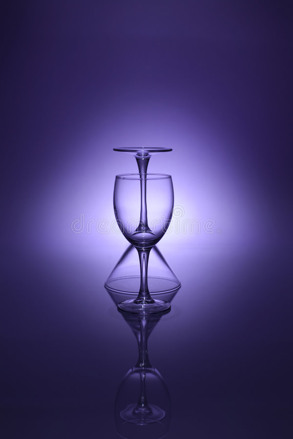 szkła zdjęcie royalty free