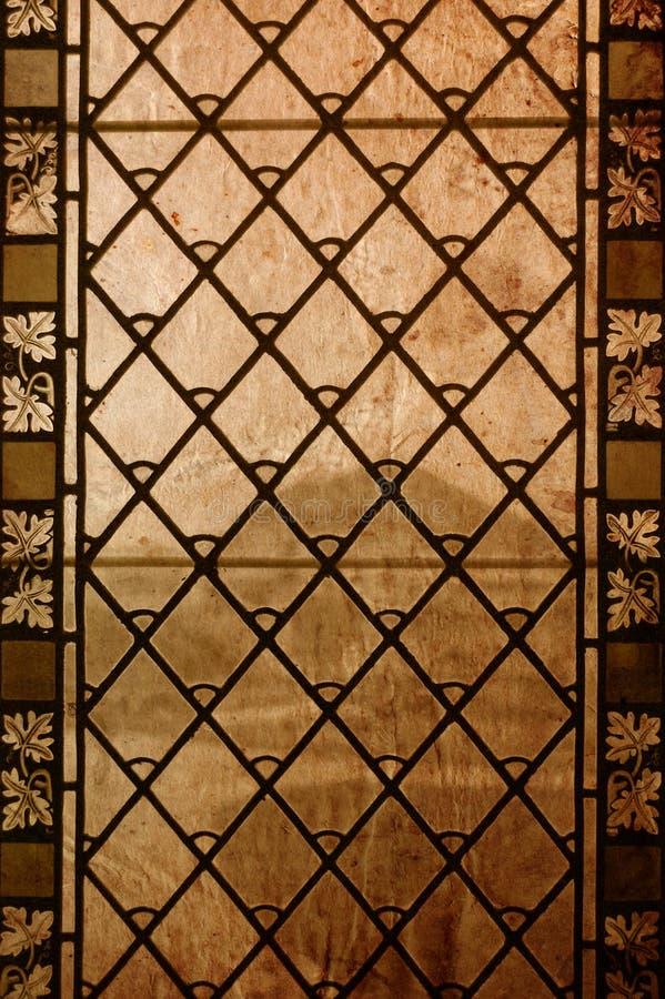 szkła pobrudzony rocznika okno obraz royalty free