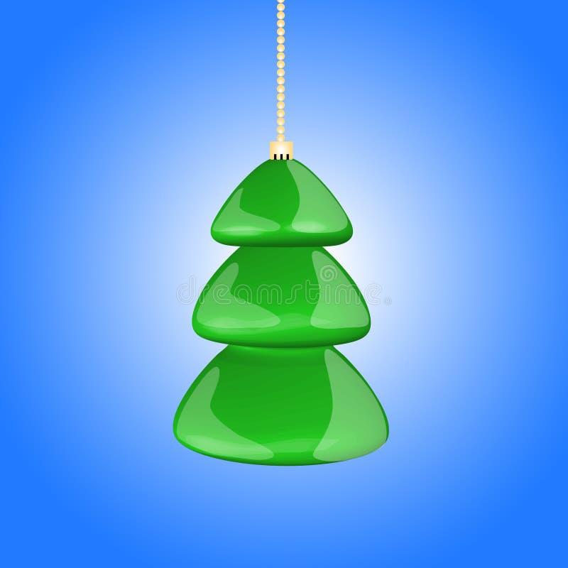 szkła zabawkarski drzewo zdjęcia stock