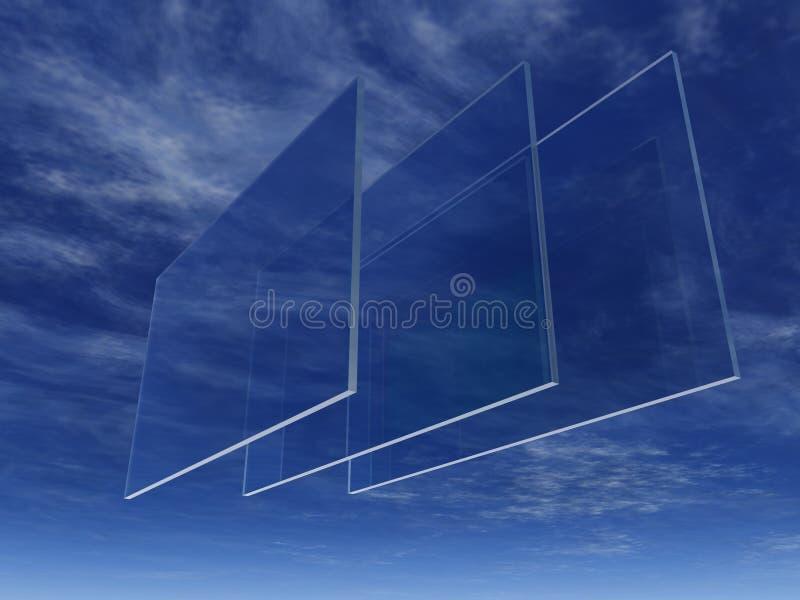 szkło ilustracji