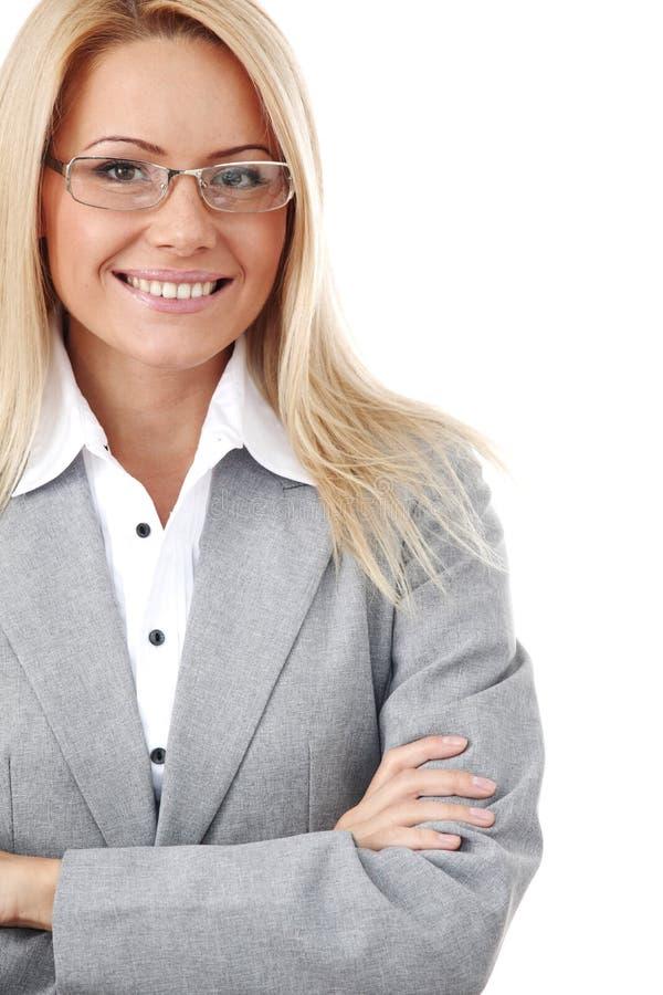 szkło biznesowa kobieta obraz royalty free