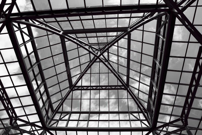szkło dach obraz stock
