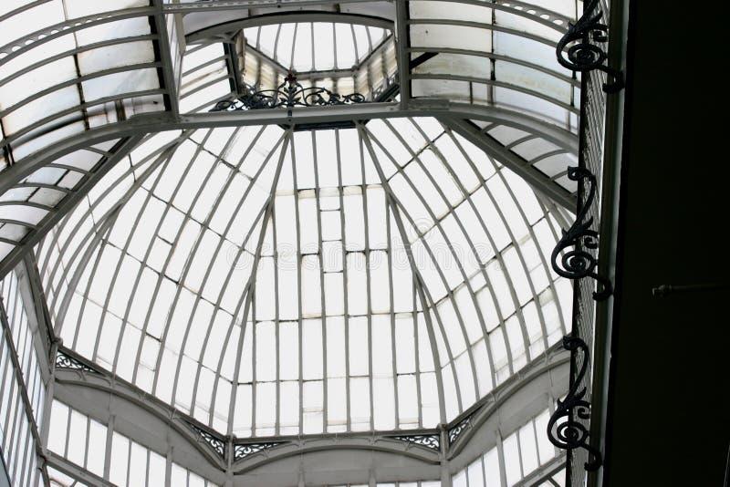 szkło dachowa stali zdjęcia stock