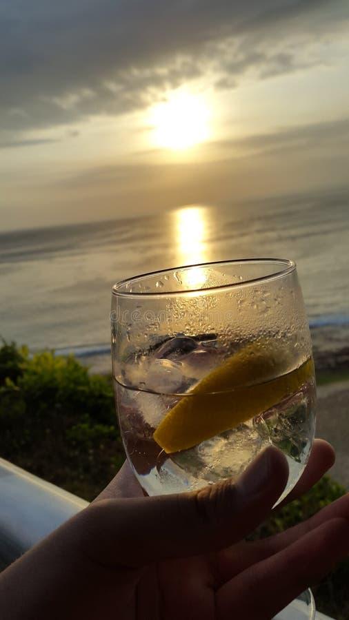 Szkło dla słońca fotografia stock