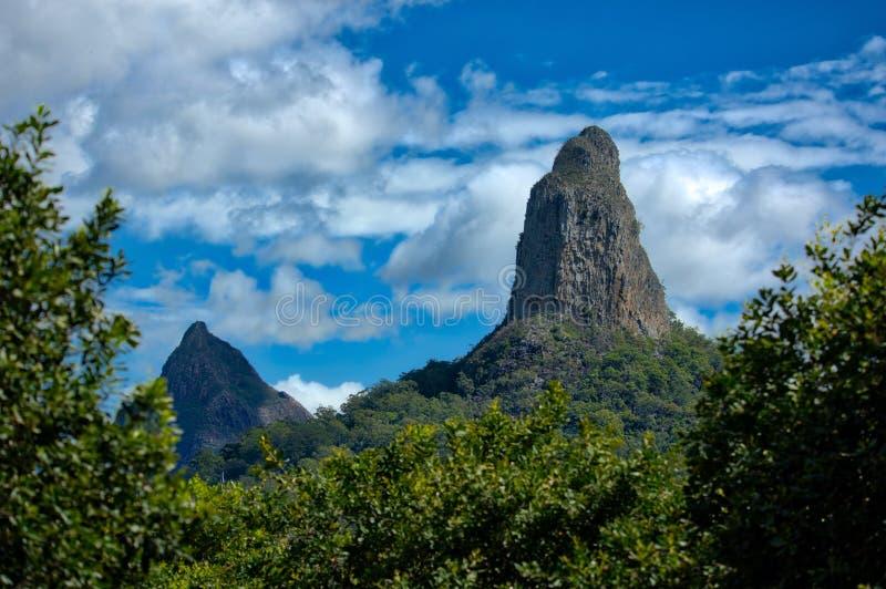 Szkło Domowe góry, Queensland Australia obrazy stock