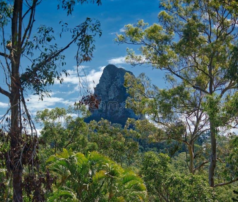 Szkło Domowe góry, Queensland Australia zdjęcie stock