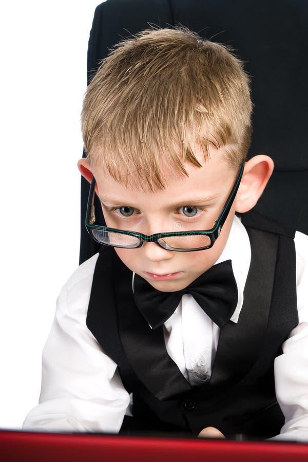 szkło dzieciak fotografia stock