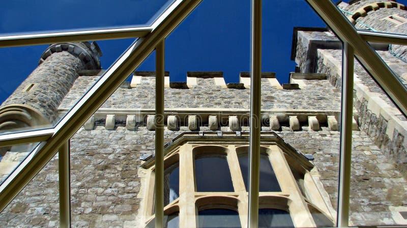 szkło grodowy dach zdjęcie stock