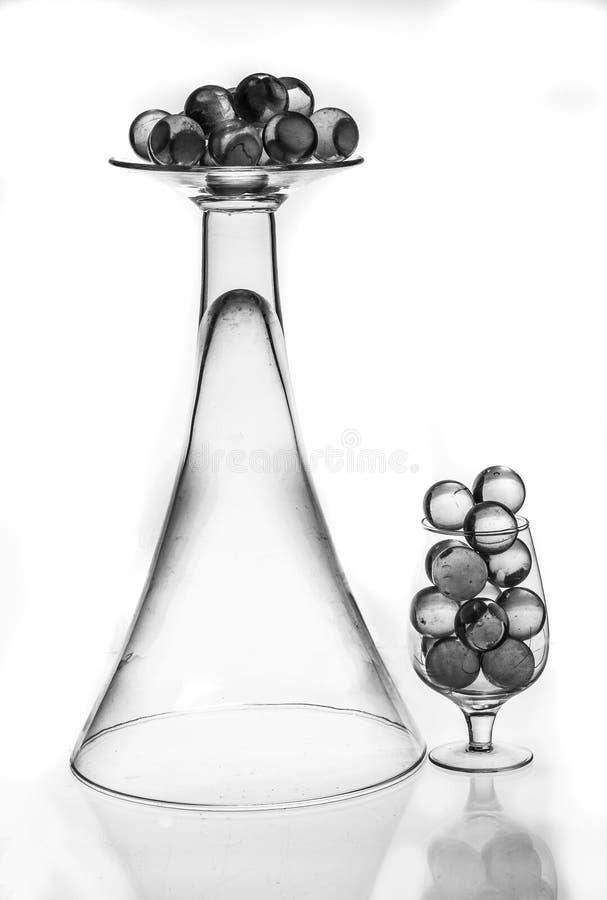 Szkło i pociski zdjęcie stock